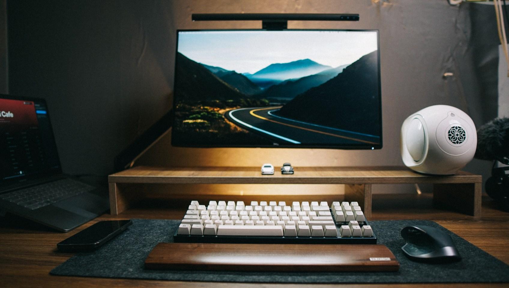 giá treo màn hình NB F100A - Arm man hinh NB F80 Northbayou giá đỡ màn hình F100A