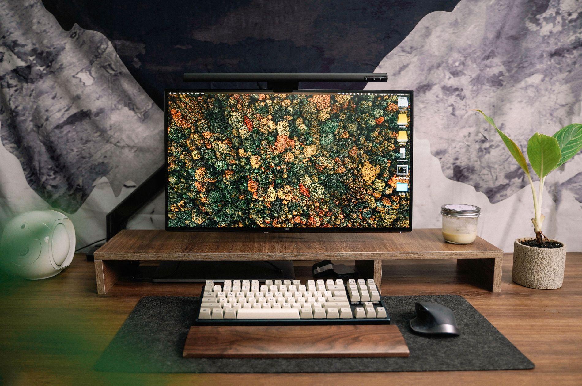 giá treo màn hình NB F80 - Arm man hinh NB F80 Northbayou giá đỡ màn hình F80
